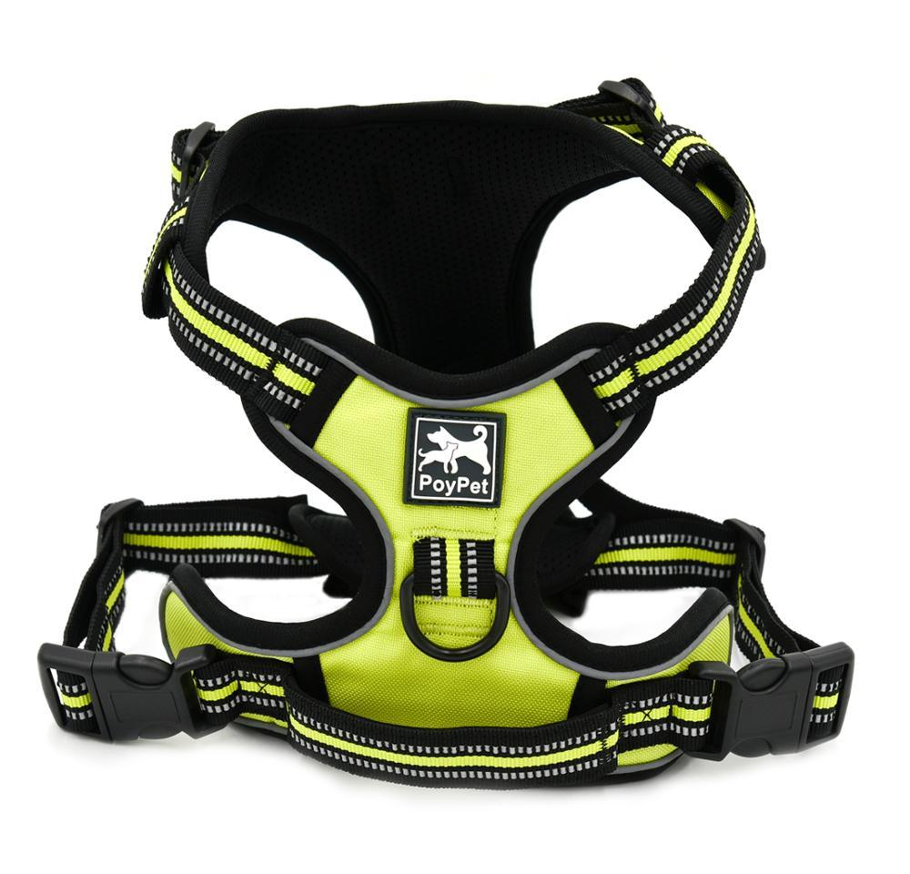 Wholesale No Pull Dog Harness 3M Reflective Pet Vest For Dogs With