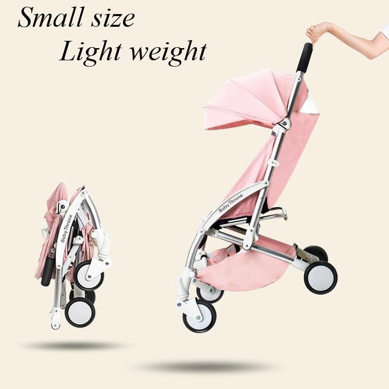 baby strollers ultra-lightweight folding can sit can lie baby trolley summer and winter baby carriage prams high quality strollers