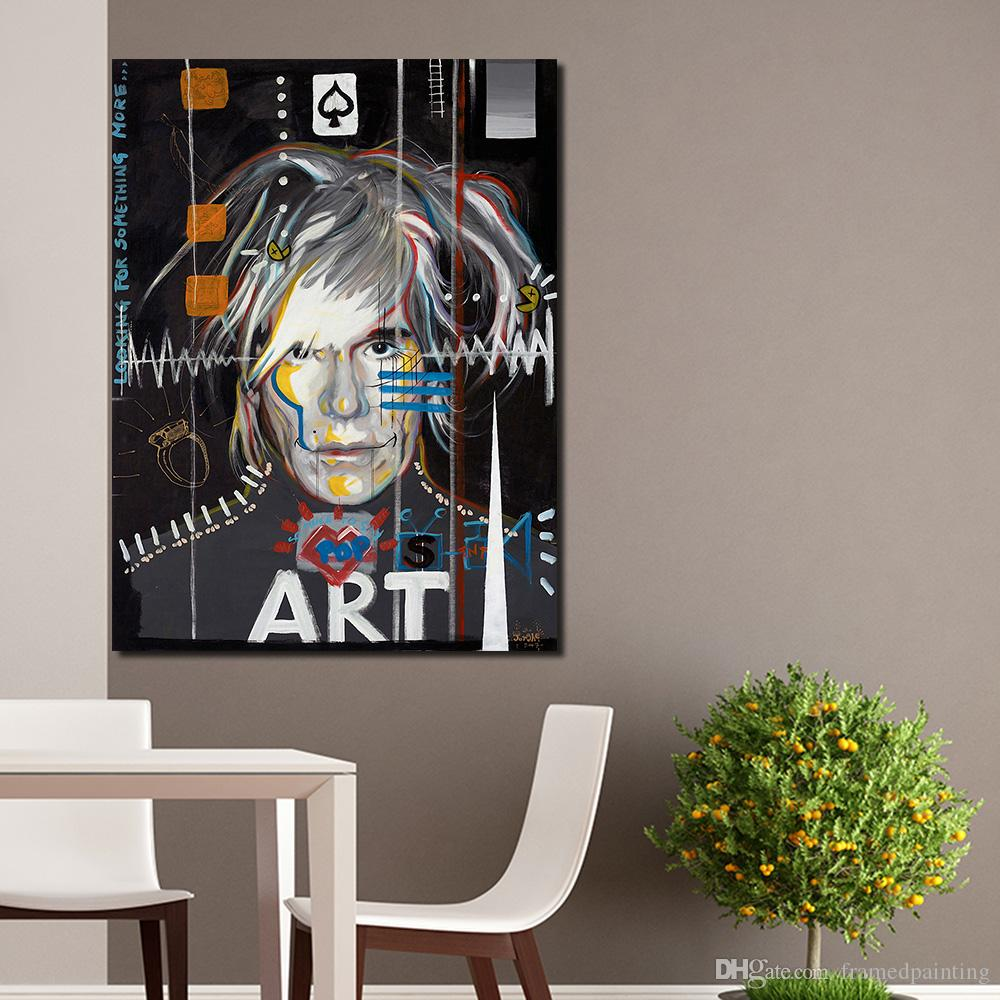 Andy Warhol Painting Celebrity Culture And Advertisement That Flourished Wall Art Canvas Paintings For Living Room No Framed