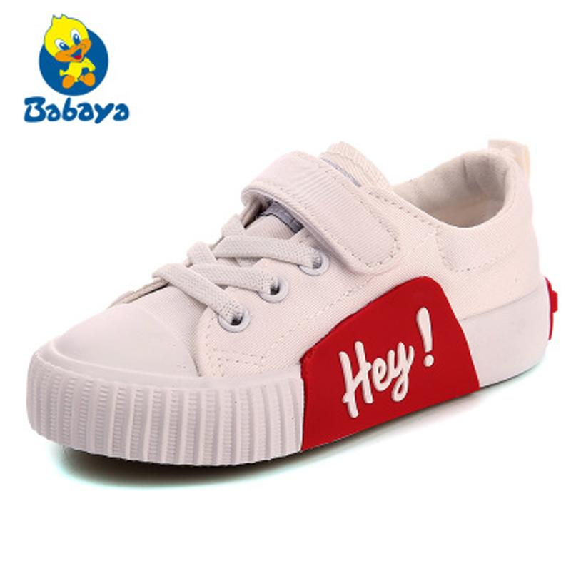 585700d4 Brand Kids Shoes Girls Sneakers Boys Fashion 2018 Autumn New Pattern Children  Canvas Shoes Student Casual Shoes Spring Boys Sandals Online Sales On Kids  ...