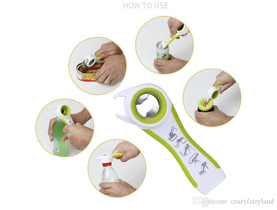 Kitchen Can Opener Tools Multifunction All-in-one Sanpink Jar Glass Lid Bottle Opener Creative Opener Gadgets Set