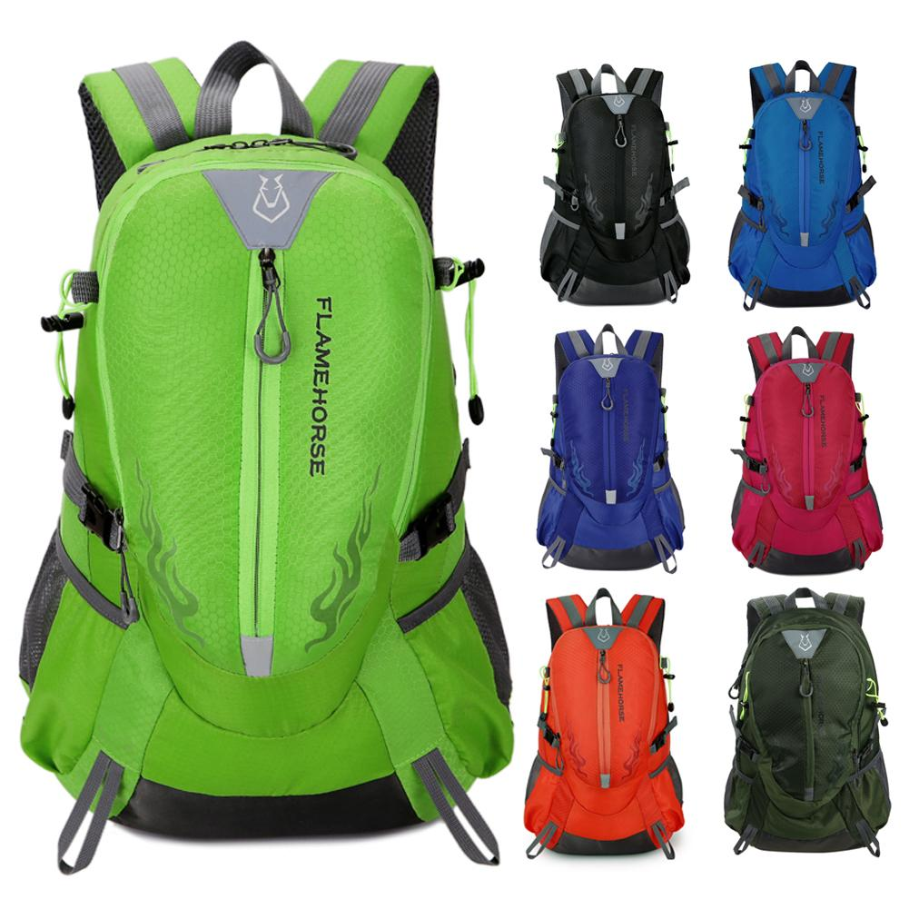 1f3464276086 Waterproof Sports Backpack Nylon Men Women Travel Bag Mountain Climbing  Camping Hiking Rucksack Outdoor Bags Rucksack Backpack Boys Backpacks From  Kateperry ...