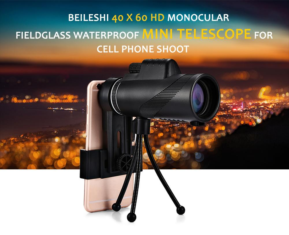 Bak monocular telescope hd mini monocular outdoor
