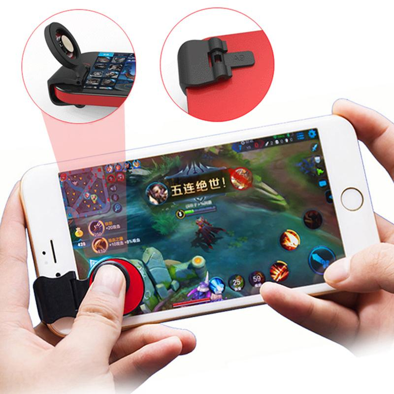sports shoes b3df2 75826 Mobile Fling Joystick Stable Clip Touch Screen Joystick Universal Clip-on  Clamp Support mobile legend And More Game joystick