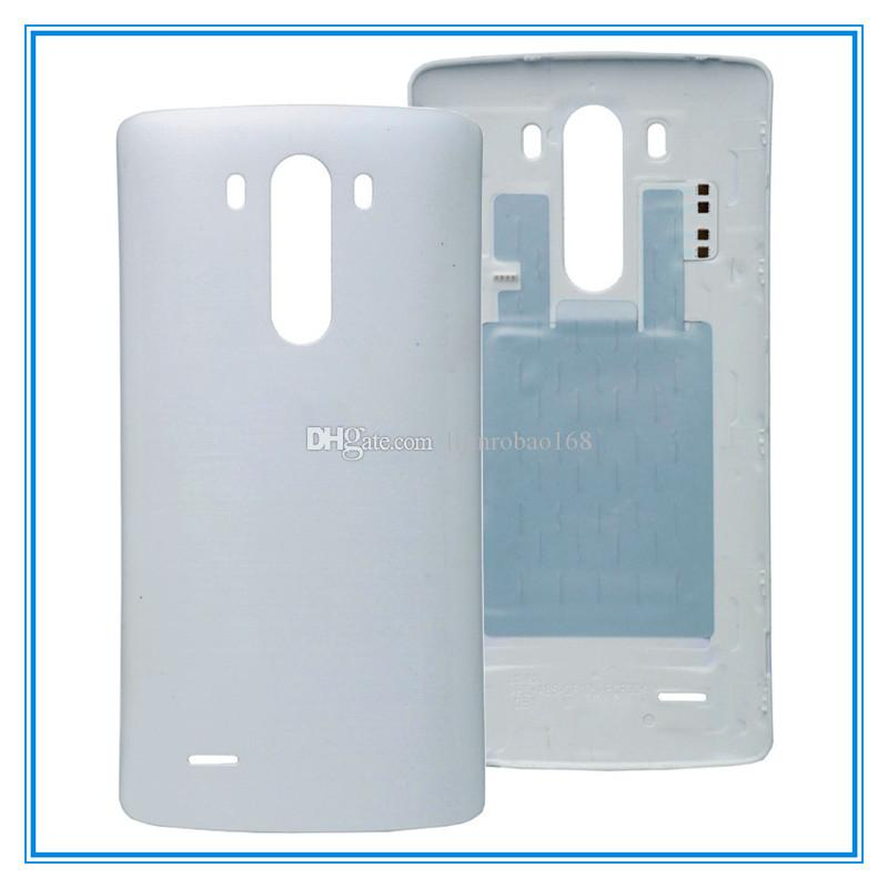 Original Battery Door With NFC Wireless Back Housing For LG G3 D850 D851 D855 VS985 LS990 Back Cover Housing Battery Door Replacement Parts