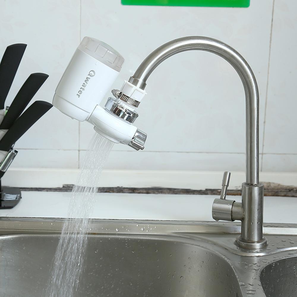 2018 Qwater Ceramic Filter Tap Water Purifier Water Purifier Kitchen ...