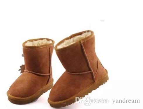 144fbbb2adc 2017 will sell the new real Australian WGG5821 high quality kids boy girl  children baby warm snow boots juvenile student snow winter boot