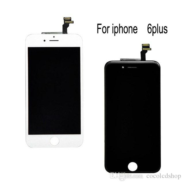 Für iphone 6 6p 6plus lcd full assembly komplett 100% mit 3d force touchscreen ersatz display keine toten pixel