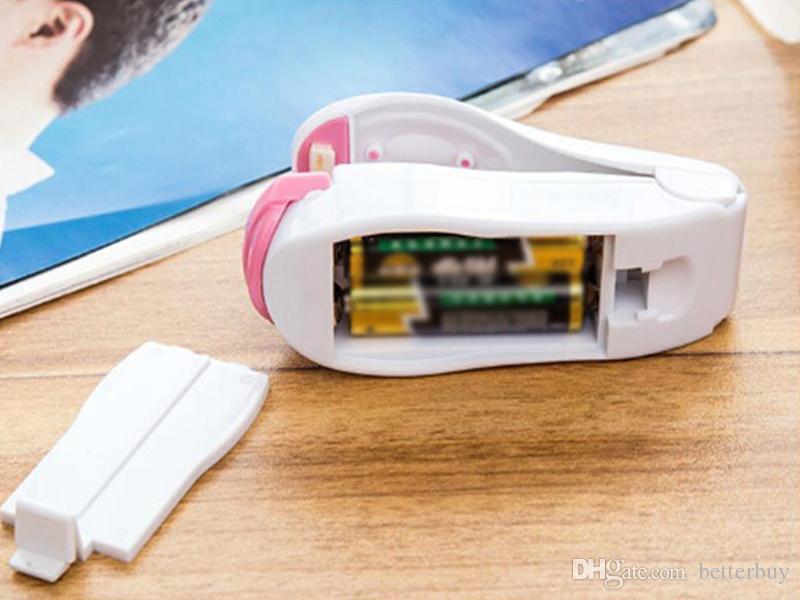 Magnetboden Tragbare Mini-Heißsiegelmaschine Impulse Sealer Seal Verpackung Plastiktüten Vakuumnahrungsmitteleichmeister Tragbare Mini-Heißsiegelmaschine