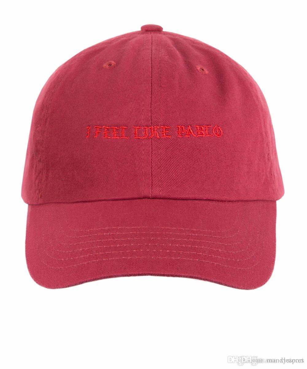 2019 Wholesale Kanye West The Life Of Pablo Paris Exclusive Merch I Feel  Like Hat Cap Bear Dad Hat From Xlcsport a7d8c55cc0f4