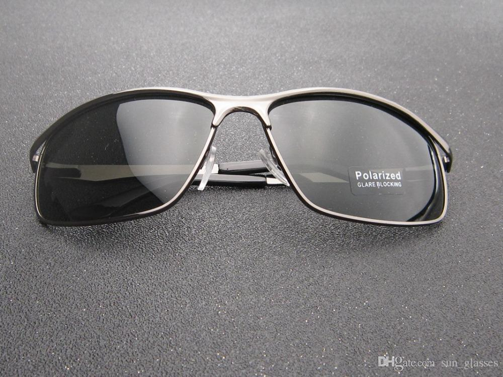 ab2db9aba1f 2018 Men Black Sunglasses Small Round Sunglasses Men Polarized Driving  Fishing Eyewear UV 400 Lunette Oculos L60314 Mens Sunglasses Police  Sunglasses From ...