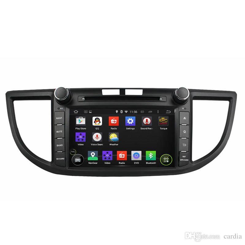 8inch Octa-core 4GB RAM Andriod 8 0 Car DVD player for Honda CRV 2012 with  GPS,Steering Wheel Control,Bluetooth,Radio