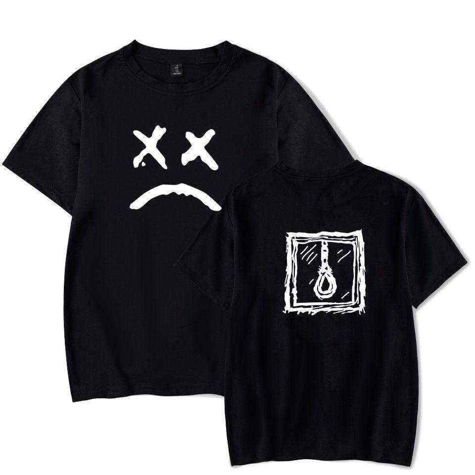 Compre Lil Peep Cara Triste Camiseta Hip Hop Rapper Tee Hombres Niños  Concierto Camiseta De Verano Fresco Casual Pride Camiseta Hombres Unisex  Nueva Moda A ... f81613b6179