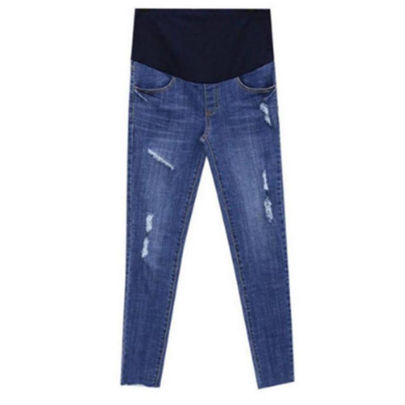 5d1784167 Compre 2018 Primavera Nueva Maternidad Nueve Centavos Jeans ...