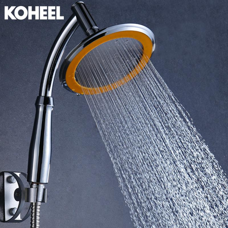 2019 Rain Shower Inches Abs Plasticstainless Steel Bathroom Shower Head Handheld Rainfall Headsrain Hand From Shuishu 33 91 Dhgate Com