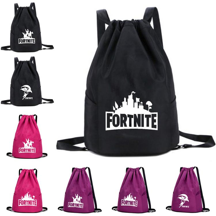 8e8e7ec5cca2a Fortnite Backpacks 10 Designs 31 15 44cm Fortnite Printed Drawstring  Backpacks For Boys Girls Kids Schoolbags Teens Bagpack DHL LA875 Back To  School ...