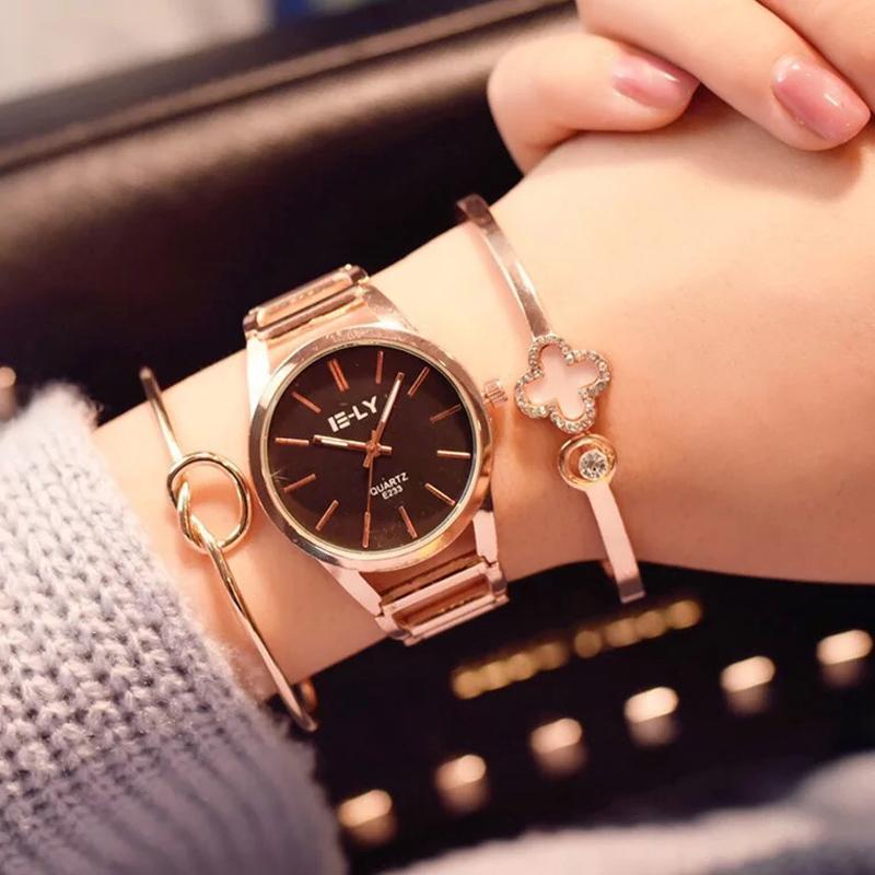 4fa635669ca Set Top Brand Women Watches Fashion Party Ladies Watch Creative Design  Bracelet Watch Luxury Relojes Mujer 2018 Relogios Cheap Luxury Watches  Cheap Branded ...