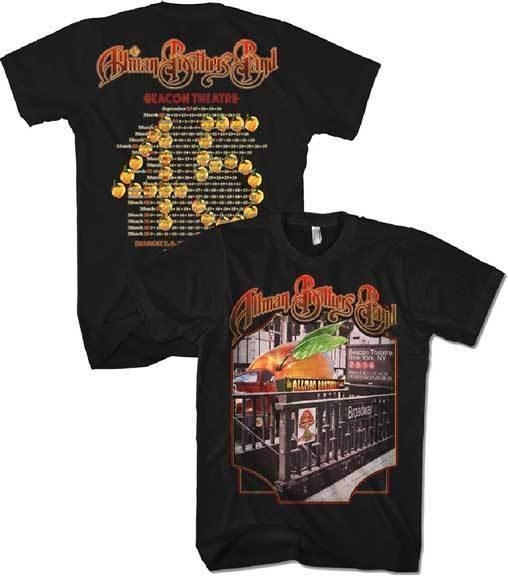 0404cd08 ... ALLMAN BROTHERS BAND Subway Steps Tour T SHIRT S M L XL Brand New