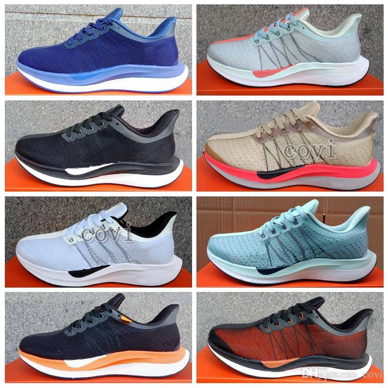 0bc4086439729 2018 New OFF Zoom Pegasus 35 Turbo Running Shoes Punch Black White Red  Womens Mens Trainers Zoom Lunar Landing Breathable Air Zapatillas Best Shoes  For ...