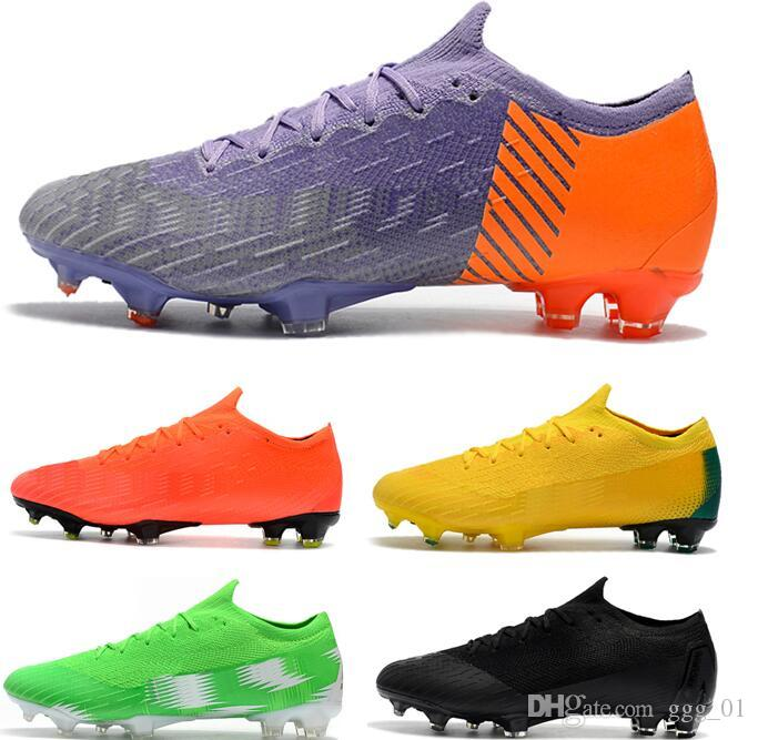 2019 2018 Cheapest Low Ankle Mercurial Mens Football Boots Vapor XII 360  Elite FG Soccer Shoes Top ACC Superfly VI PRO Outdoor Soccer Cleats From  Ggg 01 63dfdb64b08