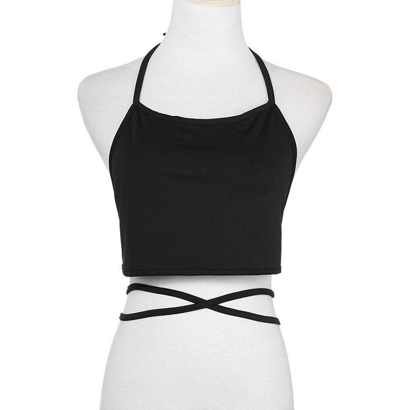 Womens Chiffon Summer Sexy Sleeveless Tank Crop Tops Vest Blouse Womans Clothes Halter Top Blusas Femininas De Verao 2019 Uhren & Schmuck