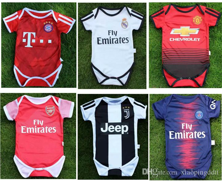 2019 Real Madrid Baby Soccer Jerseys 2018 2019 Club 6 18 Months Short  Sleeves Baby Soccer Jersey Lukaku DYBALA MULLER MBAPPE Baby Football Shirt  From ... 24fd3f123