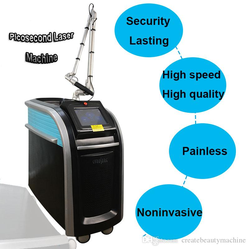 pico laser qswitch nd yag laser tattoo remove dark skin spots picosure freckle remove Honeycomb Laser 755 speckle removal machine