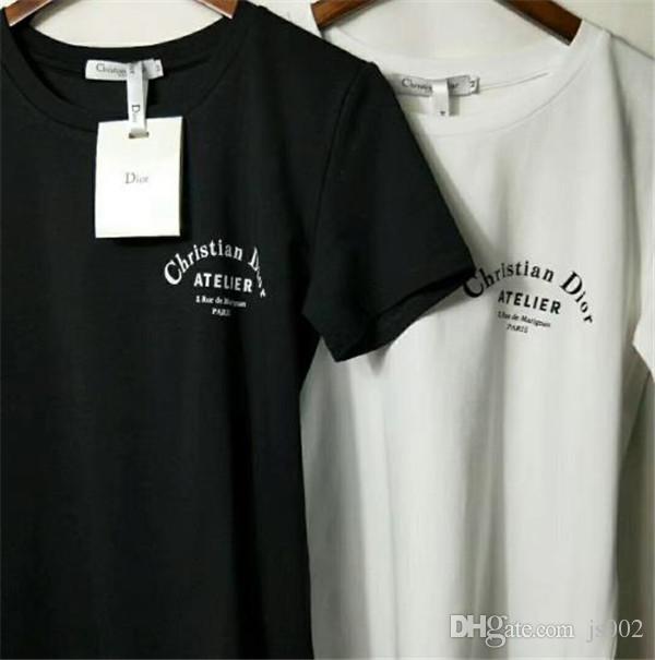 Designer T-Shirts Damen | Grosshandel Top Designer T Shirts Paris Luxus Baumwolle Hochwertige
