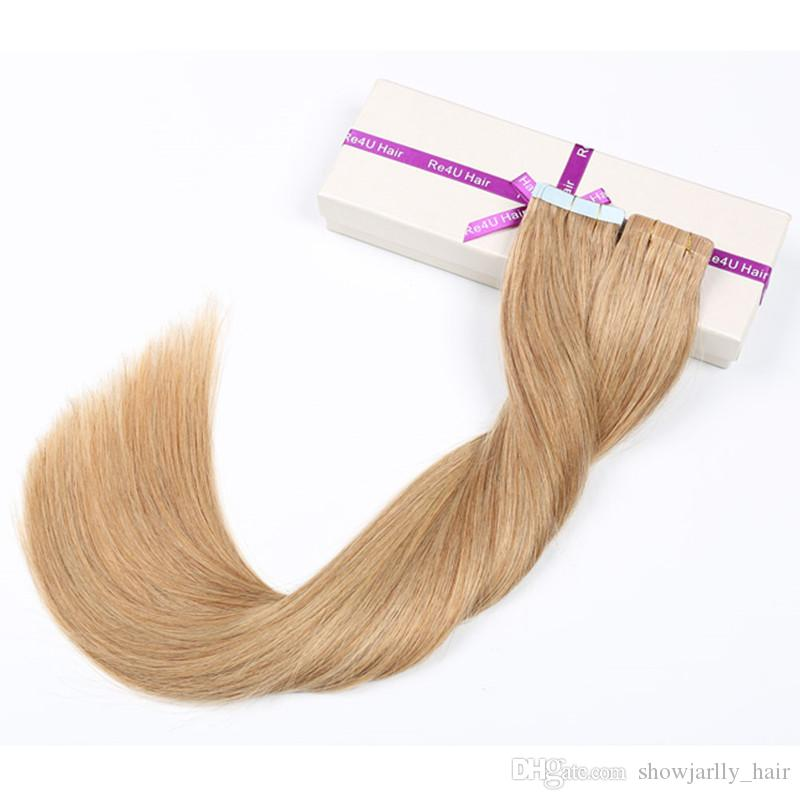 Tape Weave Hair Extensions Supplier Ed Double Sided 40g 18 Inch