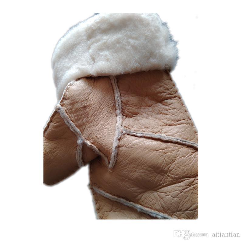 Yeni kadın aşk paragraf halat seti aşk sıcak eldiven deri kaliteli romantik el yün eldiven kadın