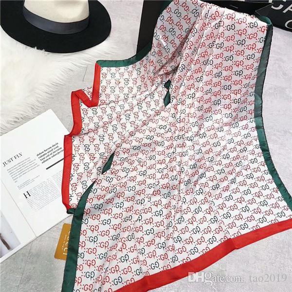 Compre Nueva Marca De Lujo Bufanda De Seda De Las Mujeres Del Chal De La  Playa Y Echarpe Bufandas Lujosas Del Abrigo Del Diseño Más El Tamaño  Bandana ... 278644e7ba0
