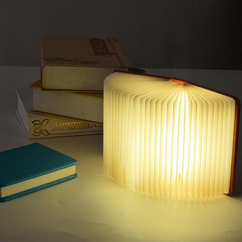 Acheter Chaude Lumio Style Led Pliant Livre Lampe 4 Couleurs Lumiere