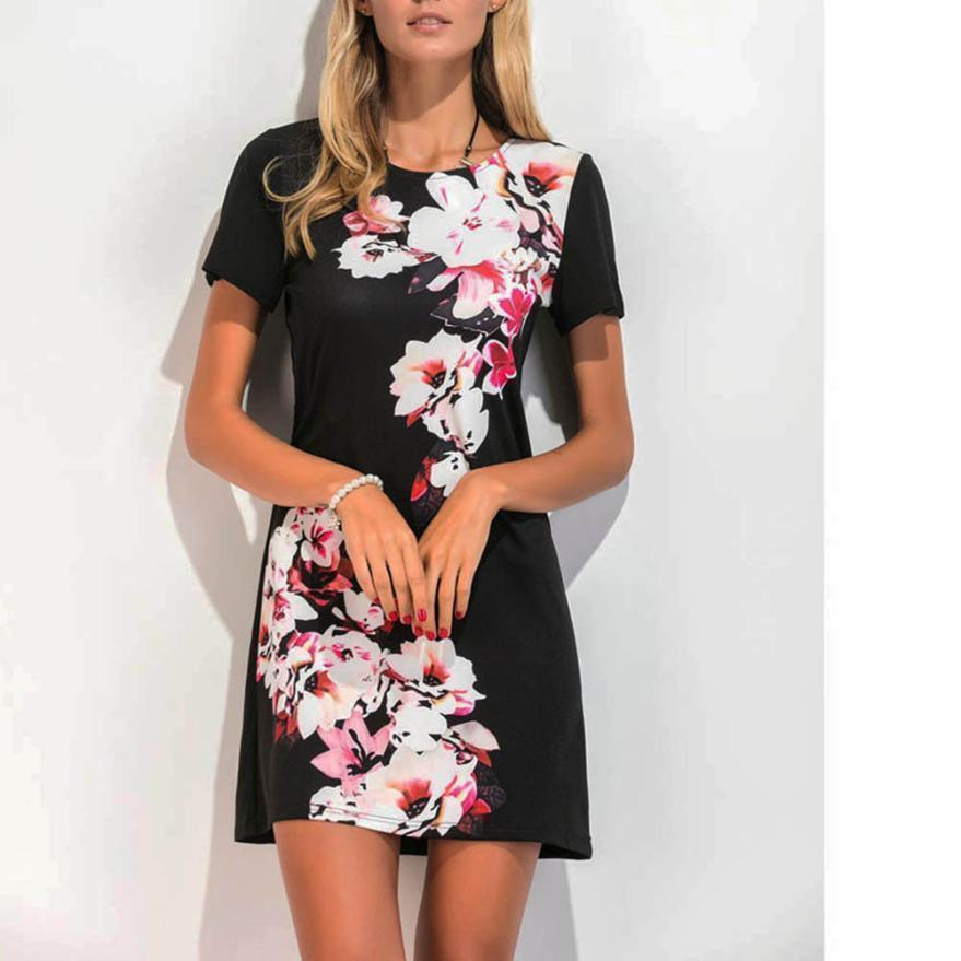 Floral Short Dresses