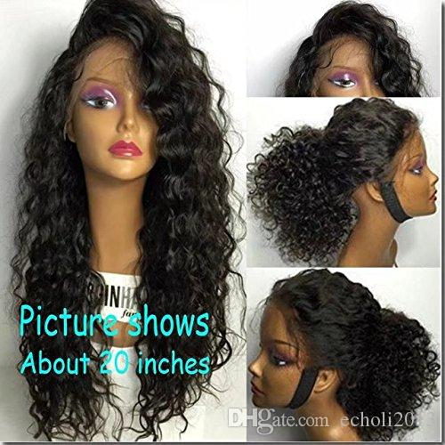 Cheap 360 Lace Frontal Wig Sew In Curly 180 Density 360 Lace Human Hair Wigs  Pre Plucked 360 Lace Wigs With Baby Hair Uk Lace Wigs Lace Wig Sale From ... 05e5981d6998