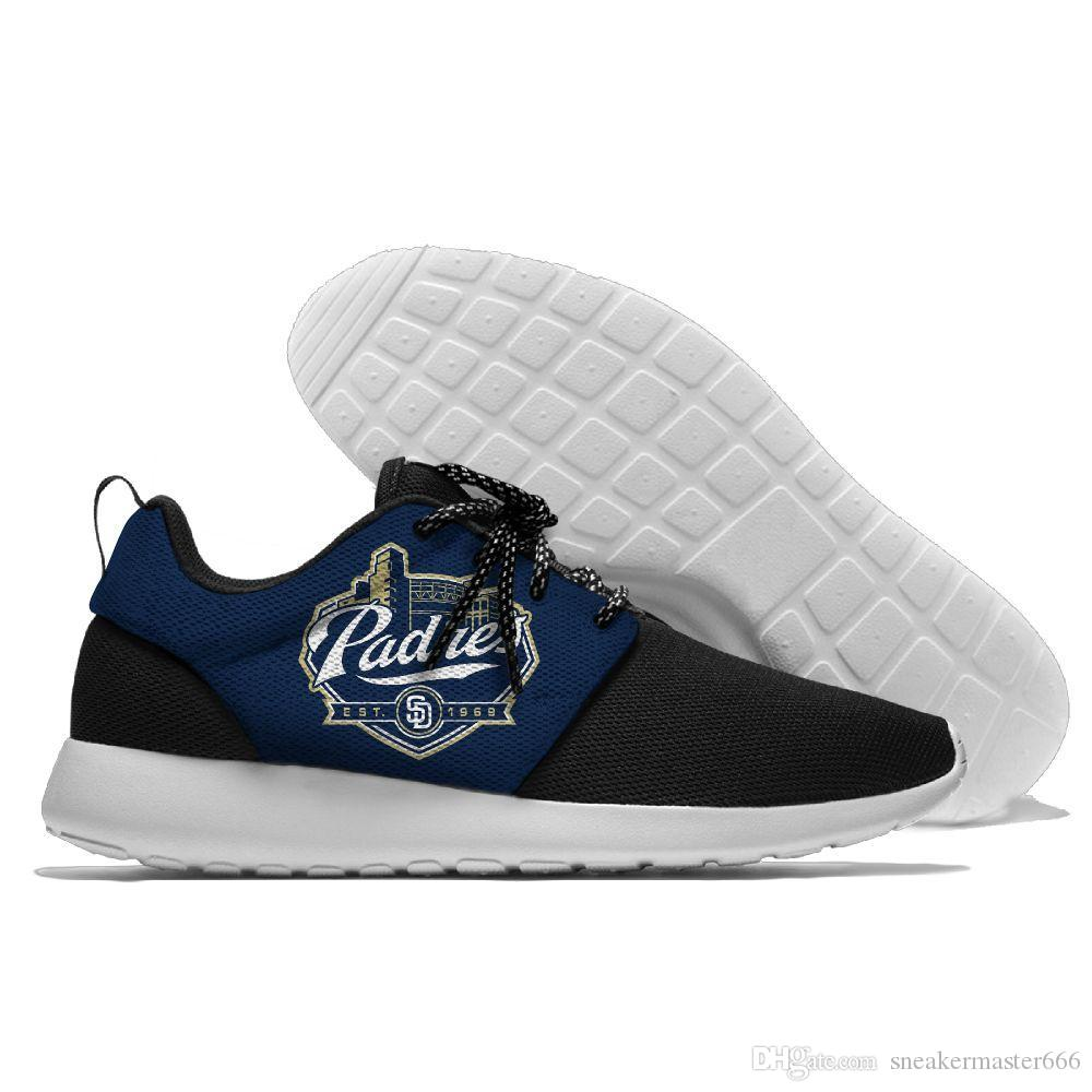 National League West San Diego Padres Summer Lightweight Shoes