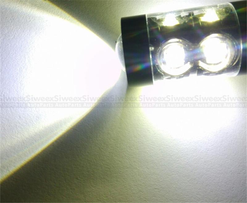 Marque nouvelle haute qualité CAR LED 50 W BLANC 1156 1157 3156 3157 H1 H3 H4 H8 / H11 H13 H16 P13W 12 V 50 W 10 SMD Ampoules de stationnement Queue DRL Feux de brouillard