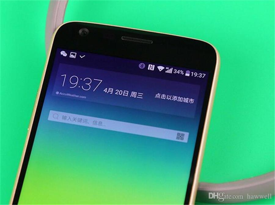 Original Refurbished LG G5 H860N H850 H820 5.3 inch Quad Core 4GB RAM 32GB ROM 16MP LTE 4G Unlocked Smart Mobile Cell Phone DHL