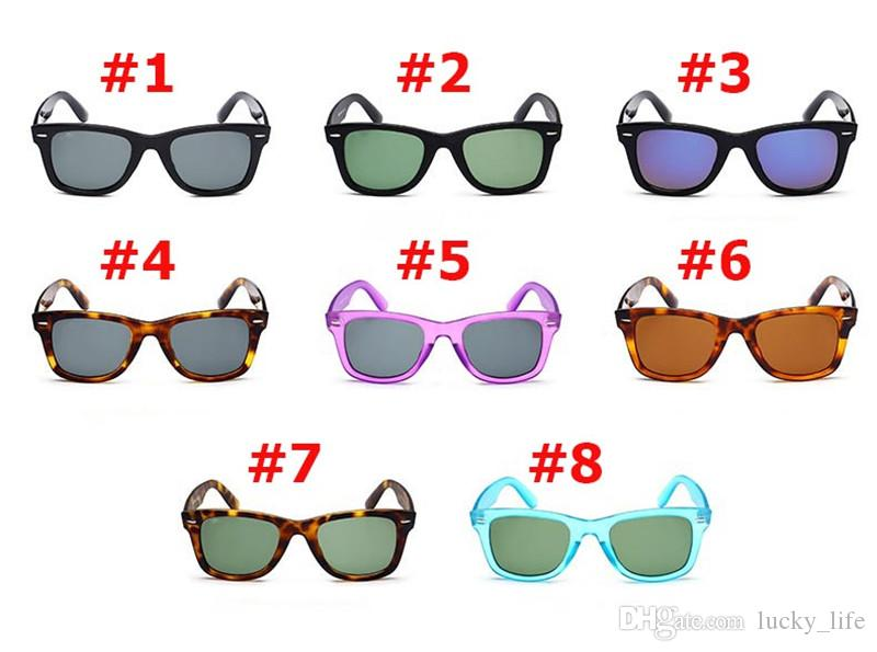 Hot Sale 2140 Bans Classic Sunglasses Vintage Pilot Brand Sun Glasses Band UV400 Men Women Ben Mirror 50mm Glass Lenses