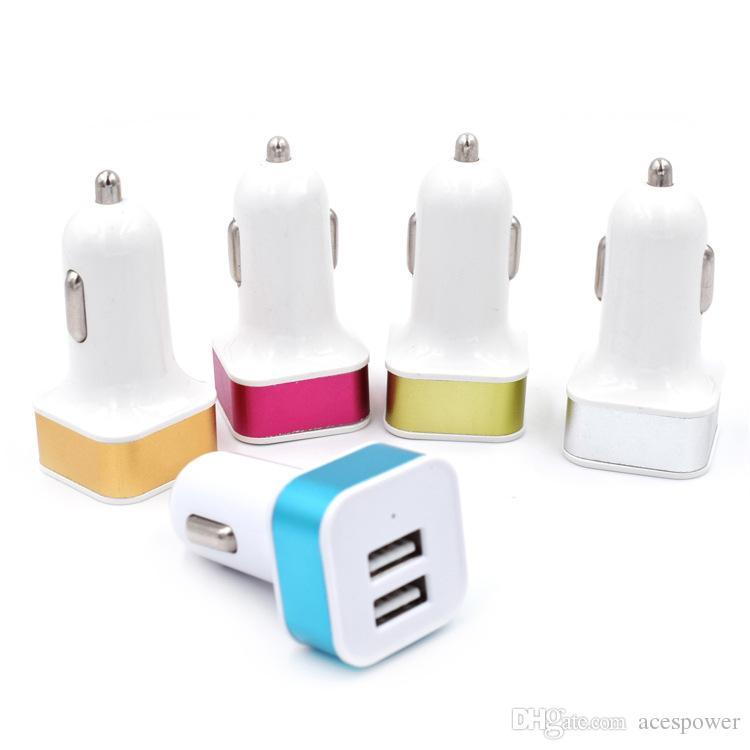 3 سيارة ميناء USB شاحن محول للحصول على اي فون 11 برو سامسونج غالاكسي ملاحظة 10 USB مقبس العالمي 3-ميناء سيارة شاحن 5V
