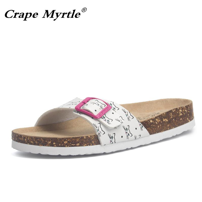 17ef85e0d738 Hot Sales 2019 New Fashion Summer Cork Slipper Women Casual Beach Mixed  Color Flip Flops Plue Size 35-43 Free Delivery Online with  48.06 Pair on  ...