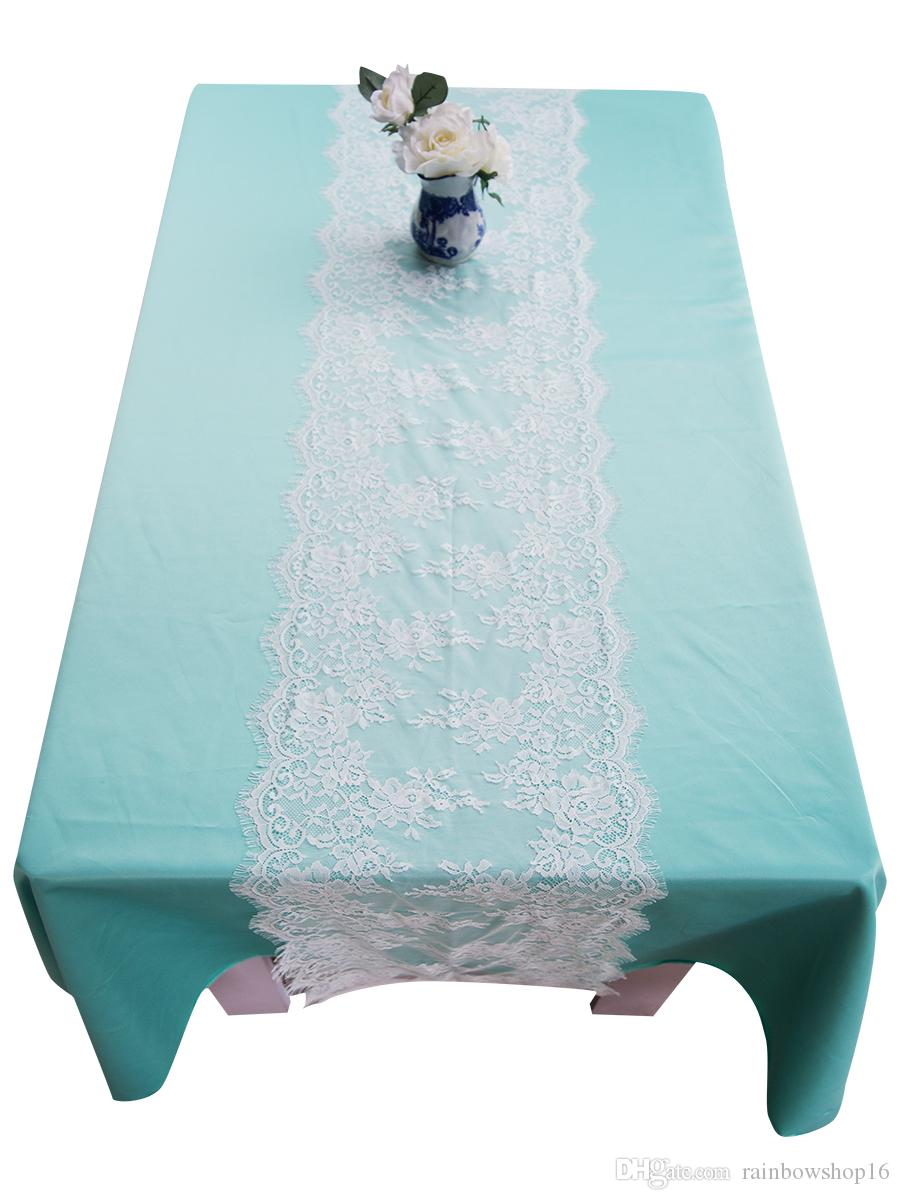 Lace Wedding Chair Sashes Covers Table Runners Party Event Supplies ...