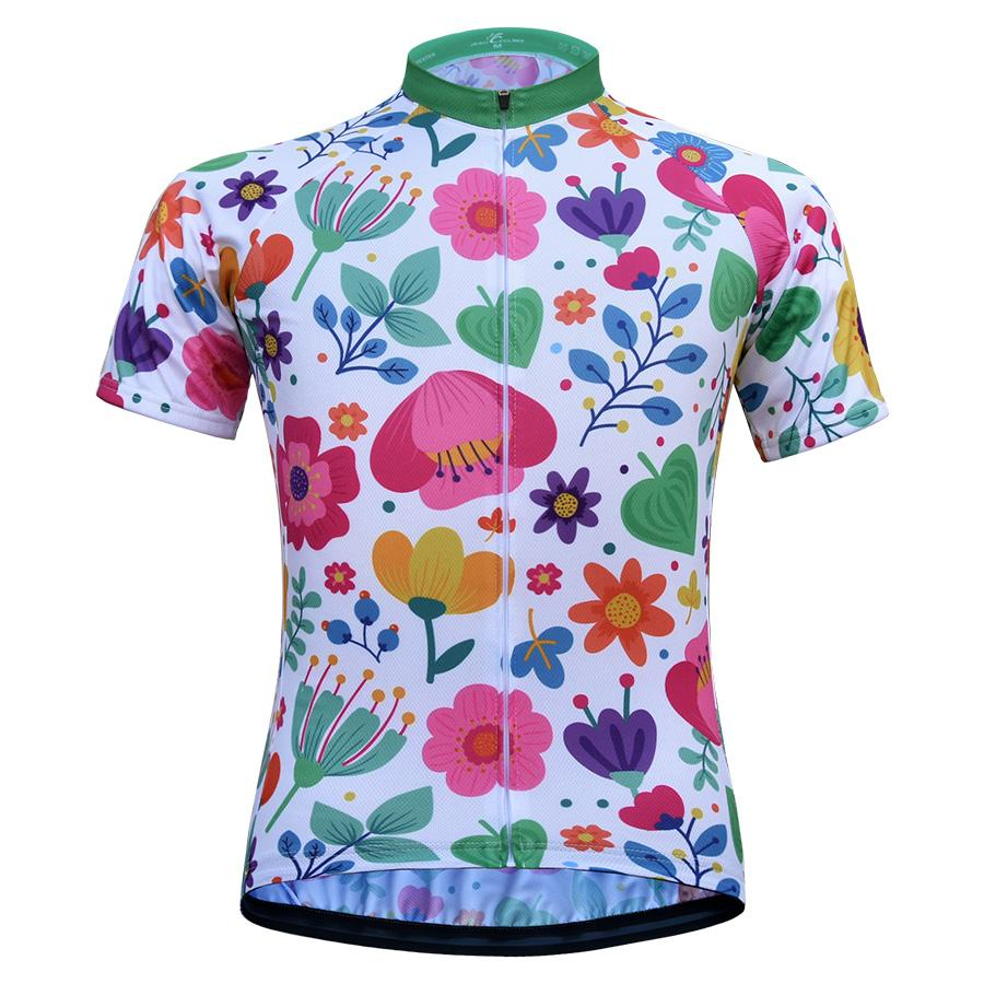 JESOCYCLING Women Cycling Jersey Short Sleeve Cycling Shirt Summer  Breathable Bike Jersey Bicycle Clothes Clothing Ropa Ciclismo Online Shirts  V Neck T ... ec4a3eafd