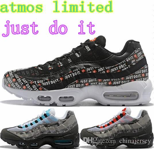 44b63e775140 2018 Mens Atmos Splash-ink Air Sports 95 Running Shoes Camo Athletic ...
