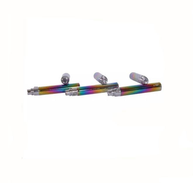 Rainbow Ego CE4 Starter Kit Blister Pack 1.6ml CE4 Atomizer Electronic Cigarette 650mah 900mah 1100mah Green Paper