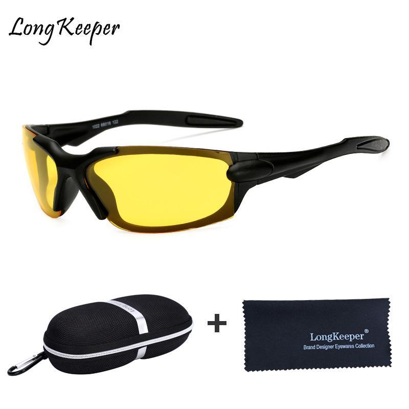 f889ef987c Compre Gafas De Visión Nocturna Para Gafas De Sol De Conducción Polarizadas  Lente Amarilla Gafas De Protección UV400 Gafas De Noche Para Conductor Con  ...