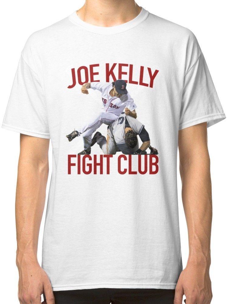 Boston Baseball Red Joe Kelly Fight Club Fan Men S Clothing T Shirts Tees  Shirts Tshirt From Xsy13tshirt cdb2cf6674a