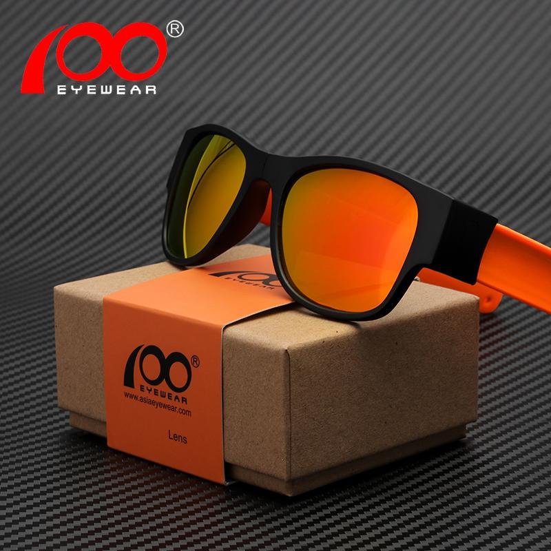 4028eb73ce Compre Espejo Irrompible Gafas De Sol Plegables Película A Color De Moda  Patent Slap UV400 Gafas De Sol Ultraligeras Polarizadas # SP9008TR A $44.51  Del ...