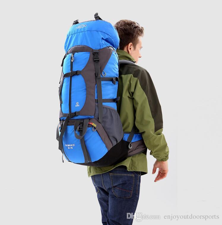 77f3ae9196 Acquista Zaino Da Viaggio Impermeabile Da Trekking 65L, Borsa Sportiva  Donna Uomo, Zaino Da Campeggio Esterno Zaino Da Trekking, Zaini Da  Alpinismo Da ...
