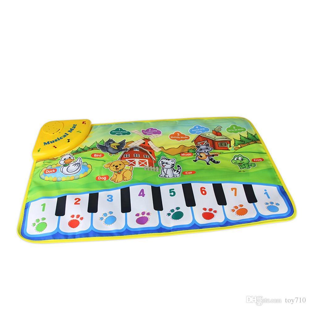 Acquista Tappeto Musicale Bambini Educativi Bambini Giocano Tappetino  Bambino Pianoforte Regalo Musicale Tappetino Educativo Giocattoli  Elettronici Bambini ... 8118f82e670b