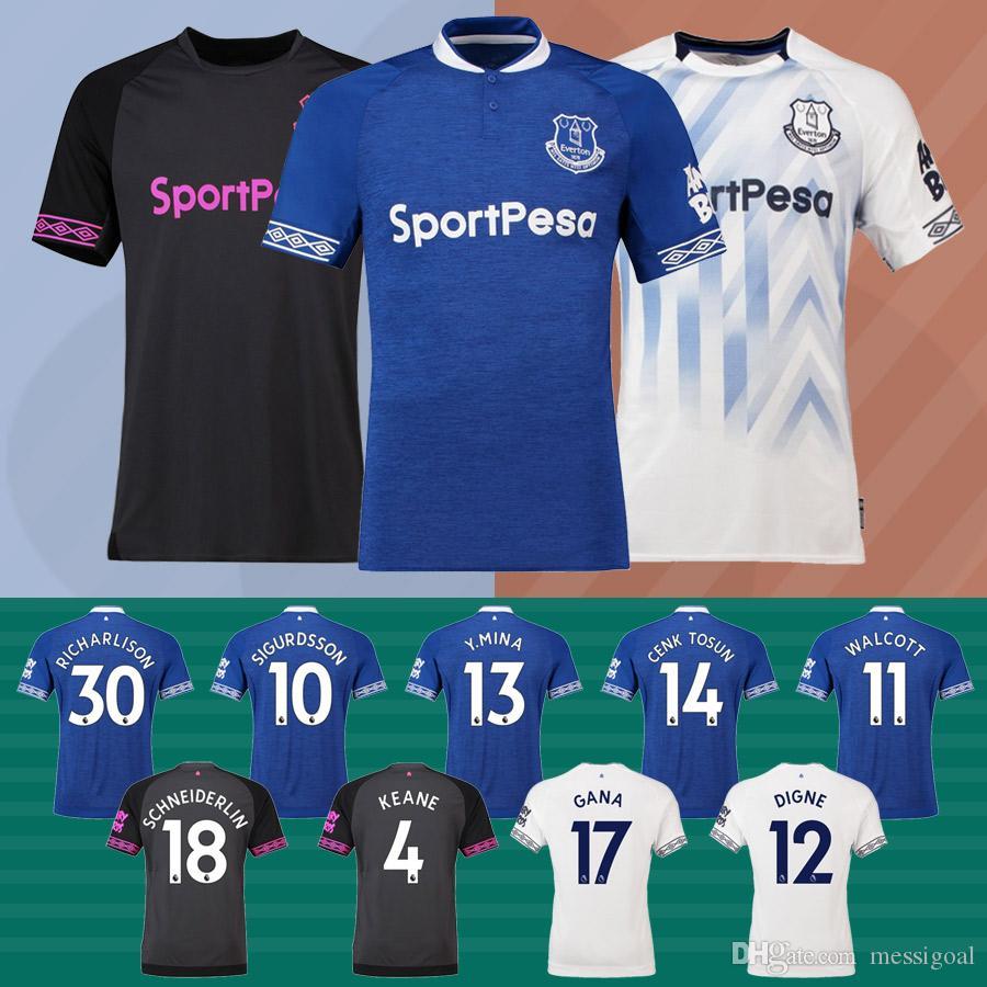 reputable site afe5d b332a promo code everton 17 gana home soccer club jersey 1fe6c 6b53a